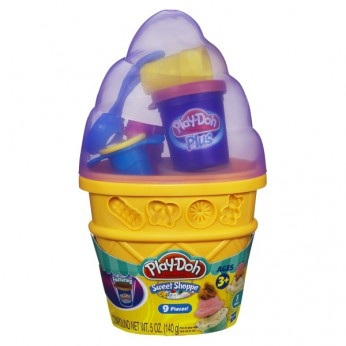 Play Doh Ice Cream Cone Container reviews