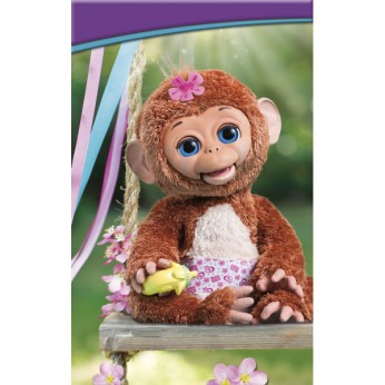 Fur Real Cuddles My Giggly Monkey reviews