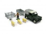 Land Rover and Sheep Trailer