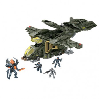 Mega Bloks Halo UNSC Pelican Gunship reviews