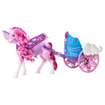 Barbie Mariposa Pegasus and Chariot reviews