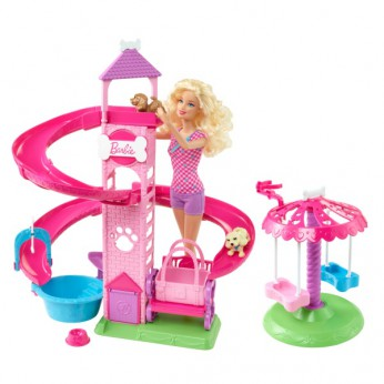 Barbie Pet Slide n Spin Pups reviews