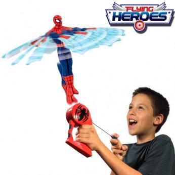 Spiderman Flying Hero