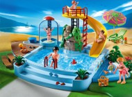 Playmobil Pool with Water Slide 4858