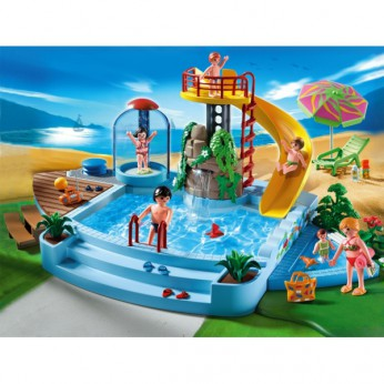 Playmobil Pool with Water Slide 4858 reviews