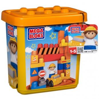 Mega Bloks Construction Site Tub 31pce reviews