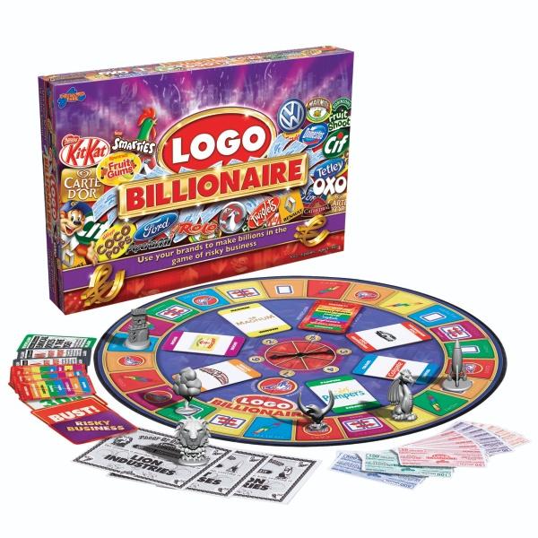 Logo Billionaire Board Game Reviews Toylike