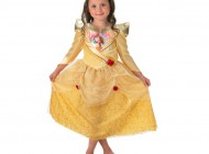 Shimmer Golden Belle Dress