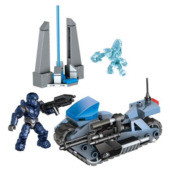 Mega Bloks Halo Unsc Siege Bike Reviews Toylike