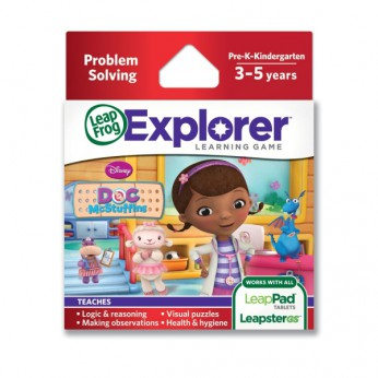 Leapster Explorer Disney Doc McStuffins reviews