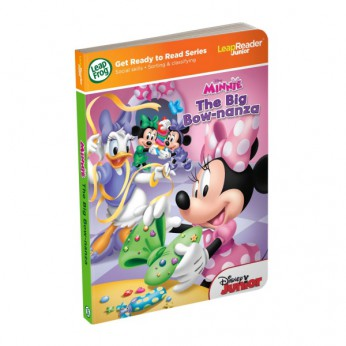 LeapFrog LeapReader Junior Book: Disney Minnie reviews