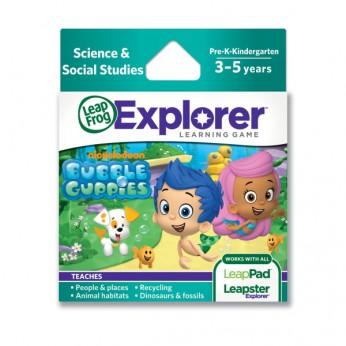 Leapster Explorer Bubble Guppies reviews