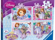 Sophia the First 4 in a Box Jigsaw