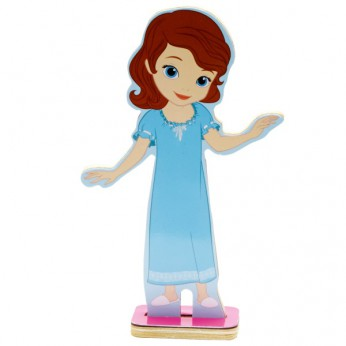 Disney Sofia the First Dress and Play Friends