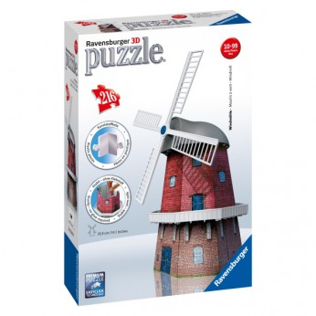 3D Windmill Puzzle 216 Piece reviews