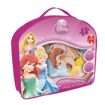 Disney Princess Puzzle and Colour Jigsaw reviews