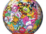 Moshi Monsters Moshlings 3D Puzzlebal 72 piece