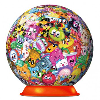 Moshi Monsters Moshlings 3D Puzzlebal 72 piece reviews