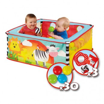 Zebra Square Ball Pit reviews