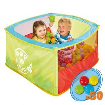 Generic Square Ball Pit 50 plastic Balls reviews