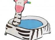 Zebra Character Trampoline