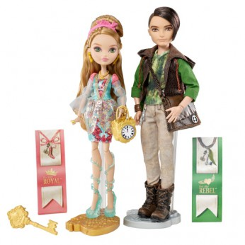 Ever After High Ashlynn Ella and Huntsman reviews