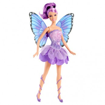Barbie Mariposa Co-Star Friend Purple reviews