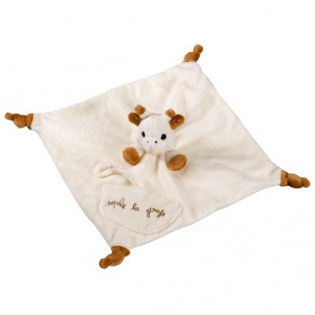 Sophie the Giraffe Comforter with Soother Holder reviews