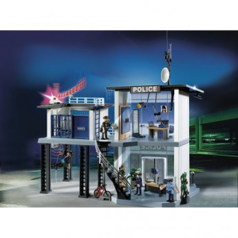 Playmobil Police Station with Alarm 5182 reviews