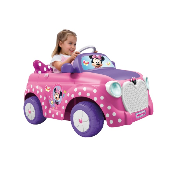 Disney Minnie Bowtique Car 6v Reviews Toylike