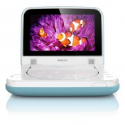 Philips 7″ Portable DVD Player Blue