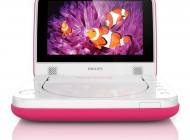 Philips 7″ Portable DVD Player Pink