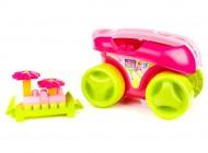 Mega Bloks Play N Go Wagon Pink
