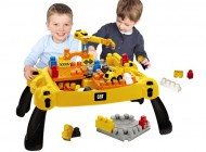 Mega Bloks CAT Ultimate Construction Site Table