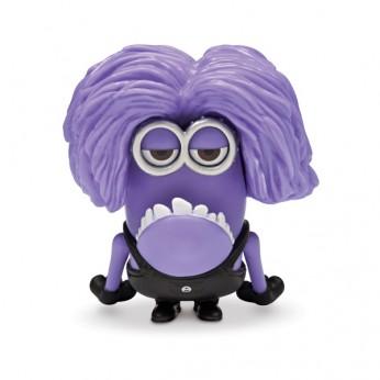 Despicable Me 2 5cm Articulated Purple Minion
