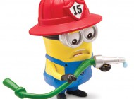 Descpicable Me 2 5cm Articulated Fireman Minion