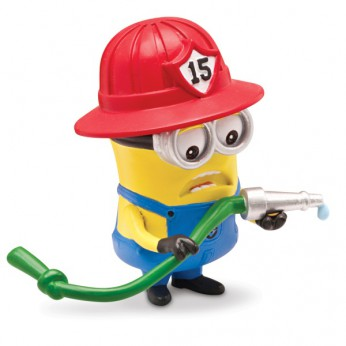 Descpicable Me 2 5cm Articulated Fireman Minion reviews