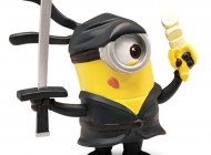 Despicable Me 2 5cm Articulated Minion Ninja