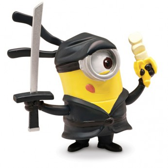 Despicable Me 2 5cm Articulated Minion Ninja reviews