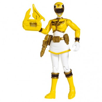 Power Rangers Megaforce 10cm Yellow Figure