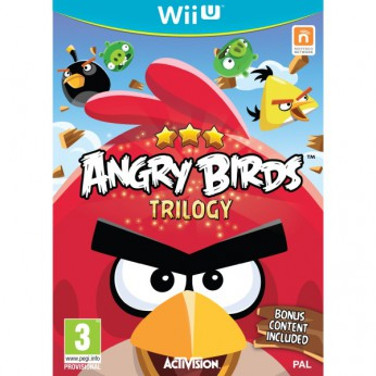 Angry Birds Trilogy WII U reviews