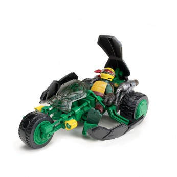 Turtles Stealth Bike and Exclusive Raphael Figure reviews