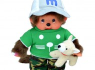 20cm Monchhichi with Companion